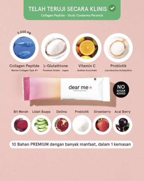 Dear Me Collagen Peptide+ 7 Sachet