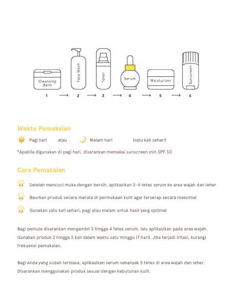 Dear Me Beauty Single Activator Face Serum - 10% Lactobionic Acid (PHA) + Lime Extract (12ml)