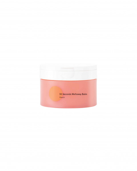 30 Seconds Meltaway Cleansing Balm - Peach