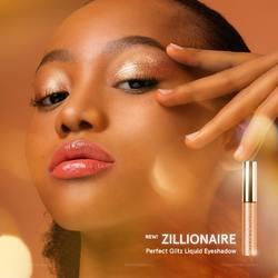 🌟𝗡𝗘𝗪🌟 Say hello to gleaming radiance! Introducing ZILLIONAIRE✨ the newest glam addition to our Perfect Glitz Eyeshadow Collection.⠀ ⠀ Made with pure pigments and fine glitter particles, Zillionaire Liquid Eyeshadow dresses your eyelids in a glimmering copper with white gold glitter for a tantalizing eye look⚡️⠀ ⠀ ✅ Airy lightweight formula⠀ ✅ Buildable and blendable⠀ ✅ Safe for delicate eyelid area⠀ ✅ Instant dazzle, intense shimmer⠀ ⠀ Available now at sociolla.com.⠀ ⠀ -⠀ ⠀ 🌟BARU🌟 Pancarkan kilau cantik tatapanmu dengan ZILLIONAIRE ✨ shade terbaru dari koleksi Perfect Glitz Eyeshadow Collection.⠀ ⠀ Diformulasikan dengan pigmen terbaik dan partikel glitter yang halus, Zillionaire Liquid Eyeshadow menghias kelopak mata dengan warna copper menawan dengan sentuhan glitter white gold untuk tampilan mata yang memikat ⚡️⠀ ⠀ ✅ Formula super ringan⠀ ✅ Buildable dan mudah dibaurkan⠀ ✅ Aman untuk area kelopak mata⠀ ✅ Hasil akhir berkilau yang intense⠀ ⠀ Kini tersedia di sociolla.com.⠀ .⠀ #DearMeBeauty #EyesEnchanted #BeautyIsUniversal #BeautyReinvented