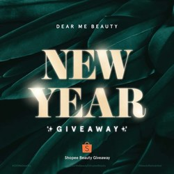 🎁GIVEAWAY TIME!🎁 We've teamed up with our dear friends at Shopee Beauty to give you a beauty set to complement your New Year, New Me look! 🤩✨⠀ ⠀ Head over @shopeebeauty_id instagram page and enter the giveaway TODAY! 🎉⠀ ⠀ -⠀ ⠀ 🎁GIVEAWAY TIME!🎁 Bersama dengan Shopee Beauty, Dear Me Beauty ingin bagi-bagi satu beauty set hair dan makeup untuk melengkapi tampilan New Year, New Me kalian! ⠀ ⠀ Yuk cek page instagramnya @shopeebeauty_id dan ikutan giveawaynya SEKARANG ya! 🎉⠀ .⠀ #DearMeBeautyXShopeeBeauty